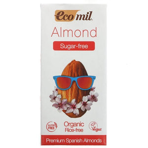 Ecomil | No Sugar Almond Drink | 1 X 1l. This Product Is :- Vegan,organic