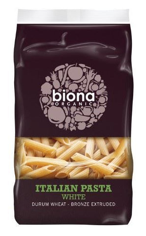 Biona | White Penne - Bronze Extruded | 1 x 500g