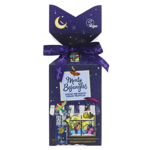 Monty Bojangles | Christmas Town Cocoa Nib Night | 1 X 130g. Sold By Superfood Market