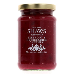 Shaws | Beetroot & Horseradish Chutney | 1 X 290g. This Product Is :- Vegan