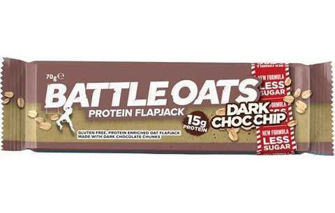 Battle Oats | Battle Oats  High Protein Bar - Dark Chocolate Chip | 1 x 70g