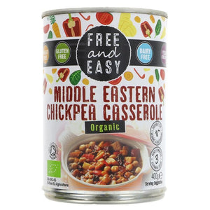 Free & Easy | Middle Eastern Casserole | 1 x 400g | Free & Easy