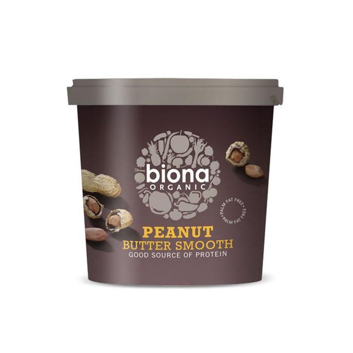 Biona | Organic Peanut Butter Smooth | 1 x 1kg
