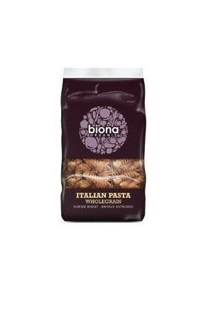 Biona | Wholewheat Fusilli - Bronze Extruded | 1 x 500g | Biona