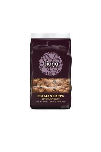 Biona | Wholewheat Fusilli - Bronze Extruded | 1 x 500g