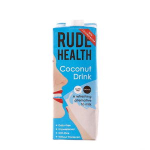 Rude Health Foods | Coconut Drink Organic | 1 X 1l. This Product Is :- Gluten Free,vegan,organic
