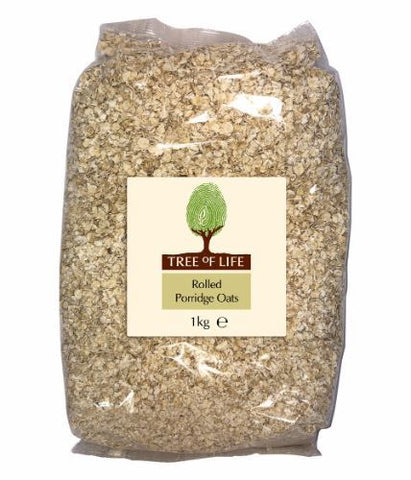 Tree Of Life | Porridge Oats - Rolled | 1 x 1kg