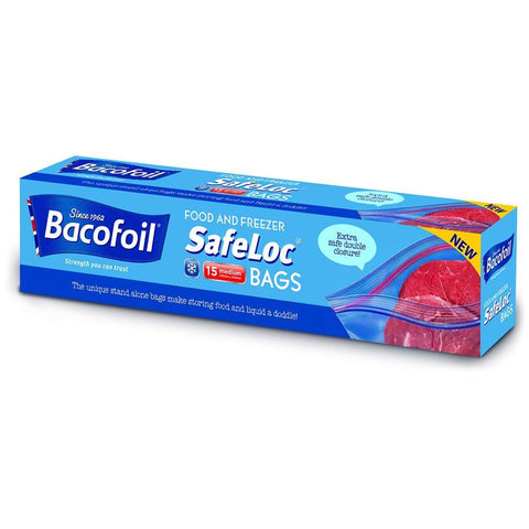 Baco | Safeloc Bags - 3ltr | 1 x 15s