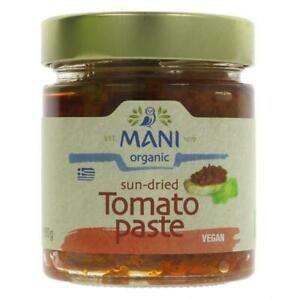 Mani | Organic Sun-dried Tomatoes In Olive Oil | 1 x 180g | Mani