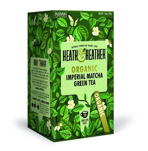 Heath & Heather | Organic Imperial Matcha Tea | 1 x 20 Bags