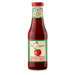 Mr Organic | Italian Organic Ketchup | 1 X 480g. This Product Is :- Vegan,organic