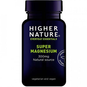 Higher Nature | Super Magnesium Capsules | 1 x 30s | Higher Nature