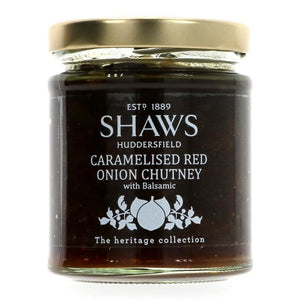 Shaws | Caramelised Red Onion Chutney | 1 X 195g. Sold By Superfood Market