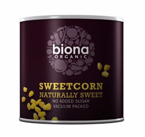 Biona | Sweetcorn - Can | 1 x 340g | Biona