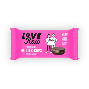 Loveraw | Cashew Cookie Dough Butter Cup | 1 x 34g | Loveraw