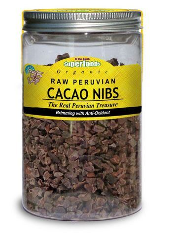 Of The Earth | Organic Raw Cacao Nibs | 1 x 180g