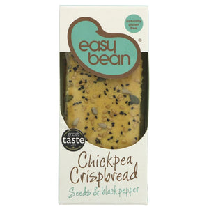 Easy Bean | Chickpea Crispbread With Seeds | 1 x 110g | Easy Bean