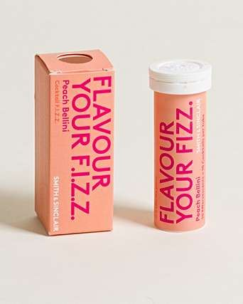 Flavour Your Fizz | Peach Bellini F.i.z.z | 1 X 40g. Sold By Superfood Market