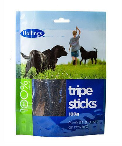 Hollings | Tripe Sticks For Dogs | 1 x 100g