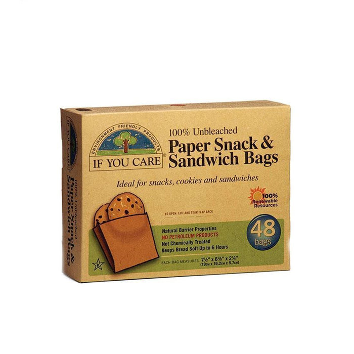 If You Care | Paper Sandwich Bags | 1 x 48bags