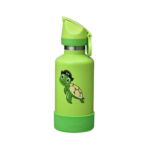 Cheeki | 400ml Insulated Kids Bottle Turtle | 1 X 400ml. Sold By Superfood Market