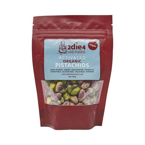2die4 | Organic Activated Pistachio | 1 X 100g. Sold By Superfood Market