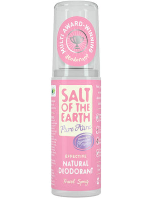 Salt Of The Earth | Lavender & Vanilla Travel Spray | 1 X 50ml. Sold By Superfood Market