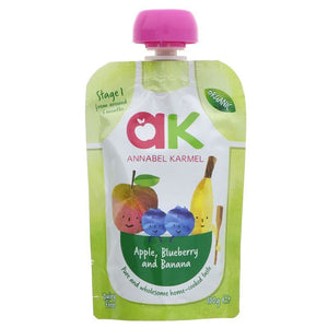 Annabel Karmel | Apple Blueberry & Banana | 1 x 100g | Annabel Karmel