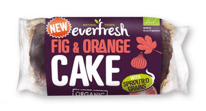 Everfresh Natural Foods | Sprouted Fig & Orange Cake | 1 x 400g | Everfresh Natural Foods