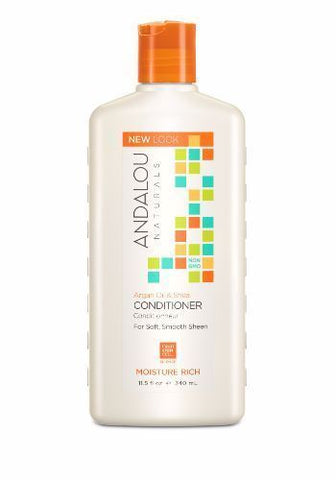 Andalou | Argan & Shea Moisture Rich Conditioner | 1 x 340ml