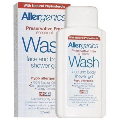 Allergenics | Allergenics Wash - Shower Gel | 1 x 200ml