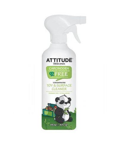 Attitude | Little Ones - Fragrance Free Toy & Surface Cleaner | 1 x 475ml