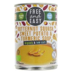 Free & Easy | Butternut;sweet Potato;turmerc | 1 x 400g | Free & Easy