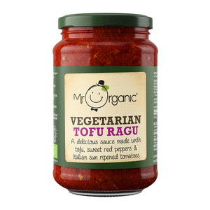Mr Organic | Tofu Pasta Sauce | 1 X 350g. This Product Is :- Vegan,organic