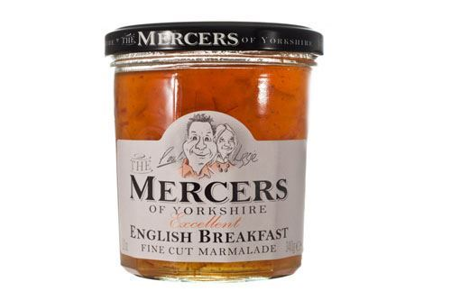 Mercers | Fine Cut English Breakfast Marmalade | 1 x 340g