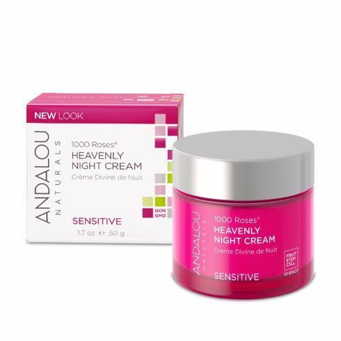 Andalou | 1000 Roses Heavenly Night Cream | 1 x 50ml