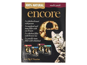 Encore | Cat Food - Mixed Multipack (pouch) | 1 X (70g X 6). Sold By Superfood Market