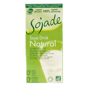 Sojade | Soya Milk - Unsweetened | 1 X 1l. This Product Is :- Vegan,organic