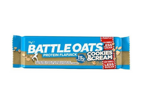 Battle Oats | Battle Oats  High Protein Bar - Cookies & Cream | 1 x 70g