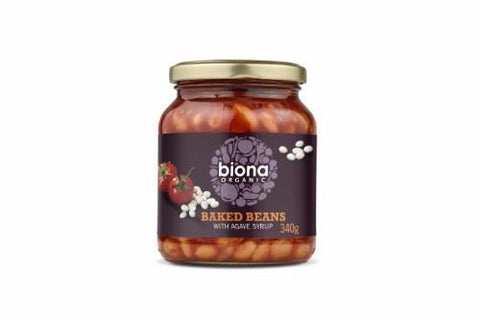 Biona | Baked Beans In Tomato Sauce - Jar | 1 x 340g