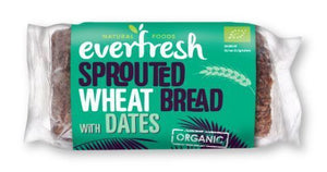 Everfresh | Sprouted Date Bread | 1 x 400g | Everfresh