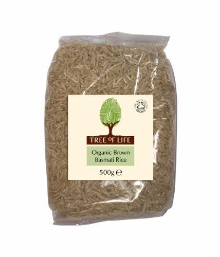 Tree Of Life | Organic Rice - Brown Basmati | 1 x 500g