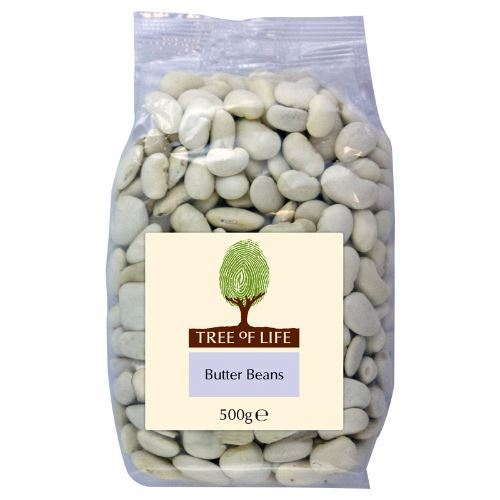 Tree Of Life | Butter Beans | 1 x 500g