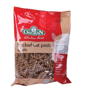 Orgran | Buckwheat Pasta Spirals | 1 X 250g. This Product Is :- Gluten Free,vegan
