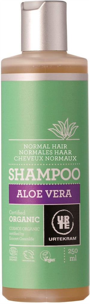 Urtekram | Organic Aloe Vera Shampoo (normal Hair) | 1 X 250ml. Sold By Superfood Market