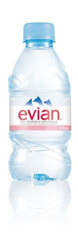 Evian | Mineral Water | 1 x 330ml | Evian