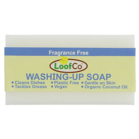 Loofco | Washing Up Soap - No Fragrance | 1 X 100g. This Product Is :- Vegan