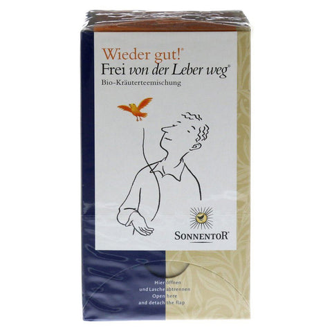 Sonnentor | Organic Liberate Your Liver Tea | 1 X 18x1.5g. Sold By Superfood Market