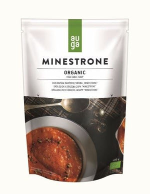 Auga | Organic Vegetable Minestrone Soup | 1 x 400g