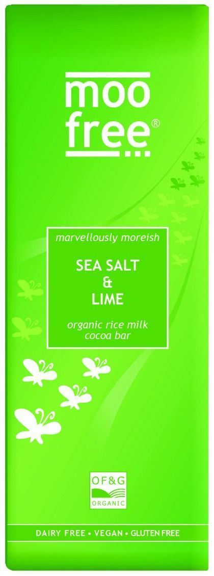 Moo Free | Sea Salt & Lime Bar | 1 x 80g